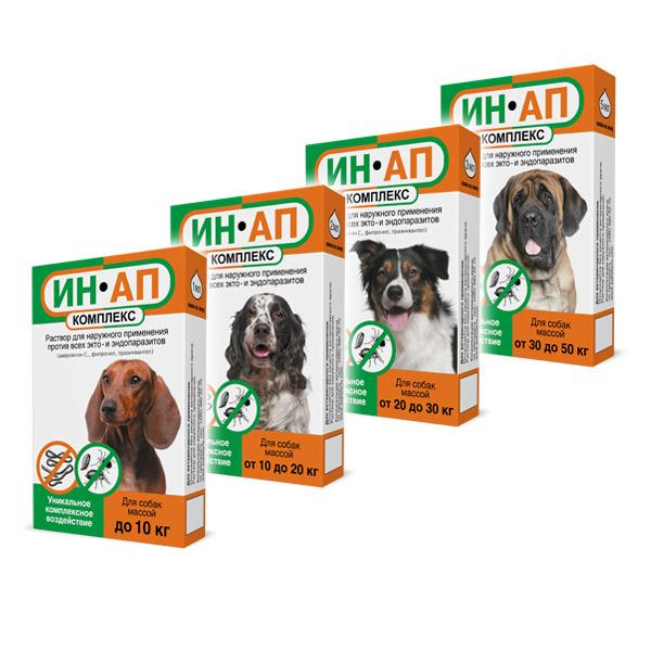 Ин-ап комплекс для собак инструкция цена