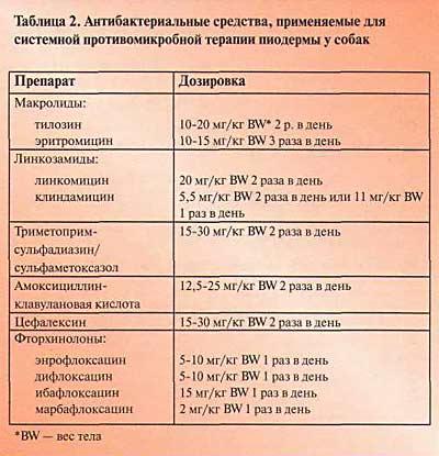Основное лечения пиодермы