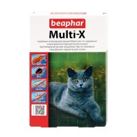 Multi-X, ошейник антипаразитарный для кошек
