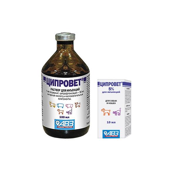 Ципровет: Антибактериальный препарат