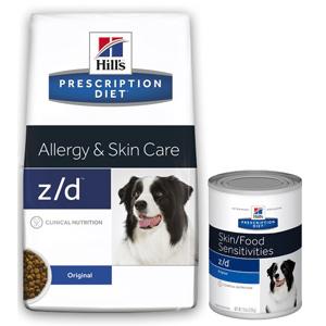 Hill's z/d (Хиллс z/d) для собак с пищевой аллергией